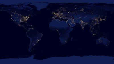 terre-lumiere-nuit