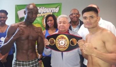 Haiti: Evens Pierre a gagné par KO contre René Gonzales « El Super Chirizo »